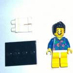 Lego Movie  Where are my Pants?' Guy Minifigure 2014